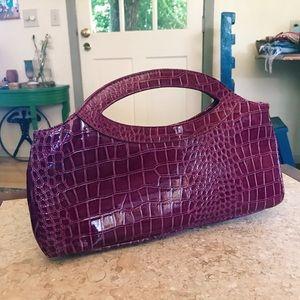 Vintage Faux 🍇 Python Bag